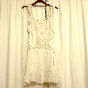 White free people dress